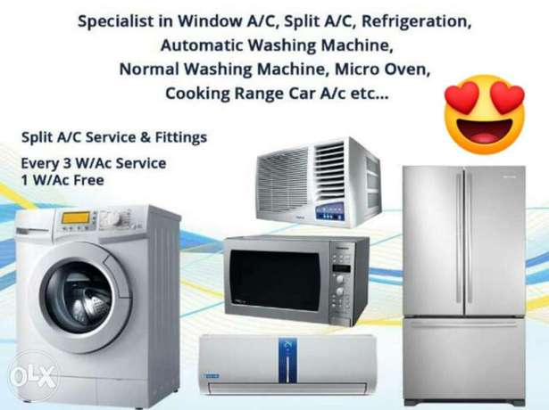 All types air conditioner rapering