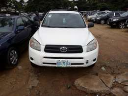 Clean and neat white Toyota Rav4 ,Direct 2008 Model