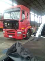 We repair MAN and Volvo trucks