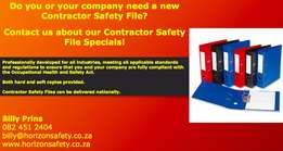 Contractor Safety Files