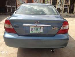 Sharp Toyota Camry 2004model First paint