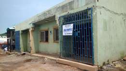 A shop space(ensuite) measuring 75sqm to let at Lugbe