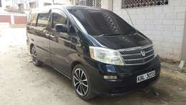 Toyota Alphard 2006 auto petrol 2.4l with all extra fogs,alloys,spoile