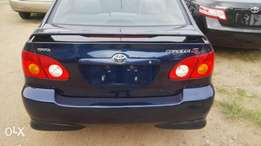 Tokunbo 2004 corolla sport for sale