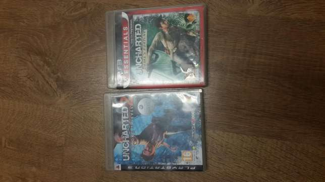 Uncharted 1 and 2 for sale R200 for both Century City - image 1