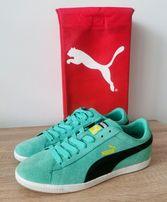 Puma suede super buty miętowe r. 38