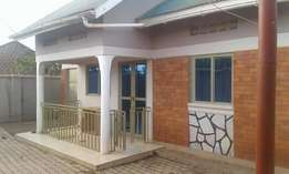 Affordable 2 bedroom stand alone house for rent in Kasangati at 350k