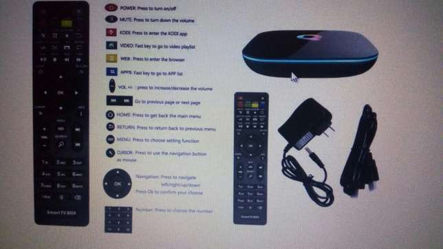 Stream all live games, youtube and 4k videos with the Qbox. Hazina - image 4