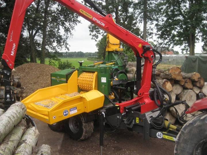 Dutch Dragon Ec10045 Houtversnipperaar, Woodchipper, Holzhacker - 2014
