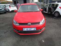 Polo TSI Model 2016,5 Doors factory A/C And C/D Player