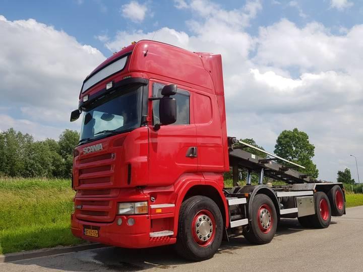 Scania R 480 8x2 NCH Manual Retarder - 2008