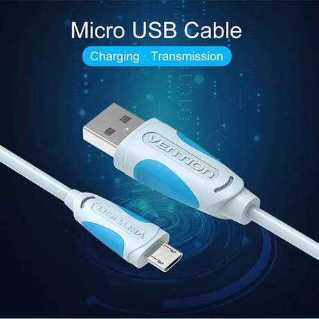 Premium Fast USB charging and High speed data cable 2.0 vention Gigiri - image 1