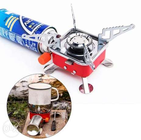 New foldable and portable Mini stove for outdoor cooking