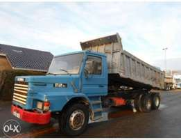 Very clean Scania tipper for sale