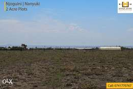 Land for Sale in Nanyuki (Njoguine) - 2 Acres