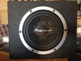"Pioneer Champion Series car sub-woofer 10"" - 350watts nominal power."
