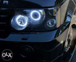 COB Led Angel Eyes:For Subaru,landrover,toyota,mitsubishi,bmw,vw:8500