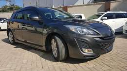 Mazda axela hatchback si edition package 2010 metalic gray sports ver