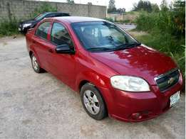 Popular Chevrolet Aveo 2009 Model Clean Engine and Gear Nothing to Fix