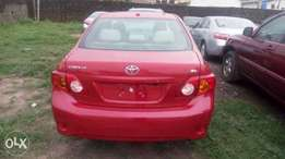 Tokunbo Toyota Corolla With DVD, Reverse Camera, Navigation