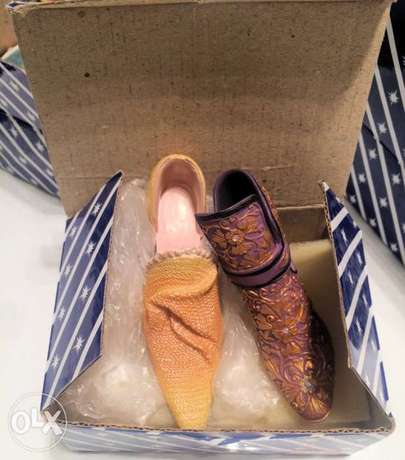 """Collection of """"Putting on The Ritz"""" Miniature Shoes - New الشيخ زايد -  7"""