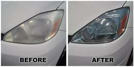 Headlight Restoration to as new with 1 year guarantee