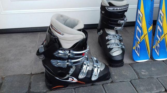 Buty narciarskie Salomon 37 Wieliczka • OLX.pl