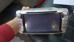 Toyota aftermarket touch screen Radio