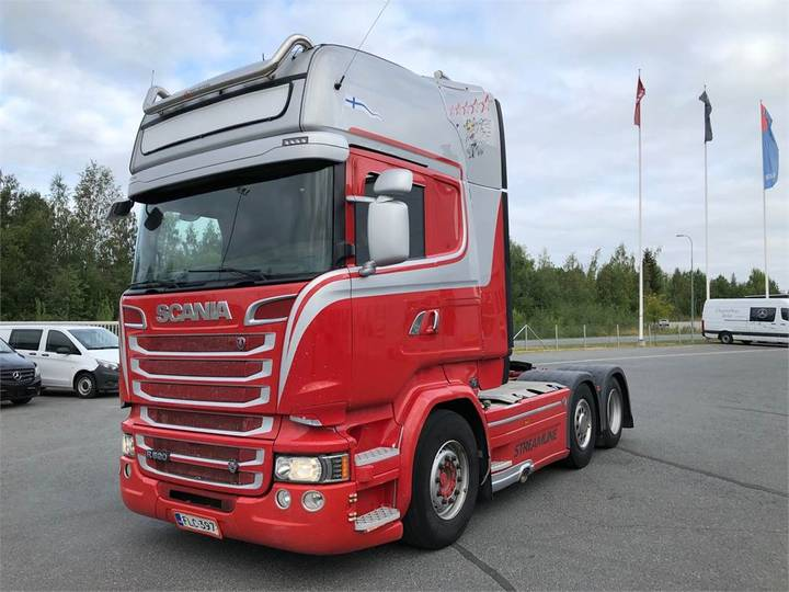 Scania R520 6x2 - 2014