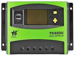 Talkers Solar Charge Controller-PWM 12V/24V 40A