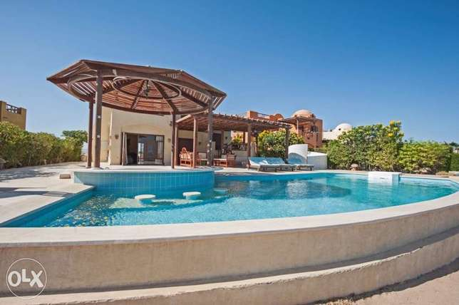 4 Bedroom Villa for Rent in El Gouna Heated Private Pool