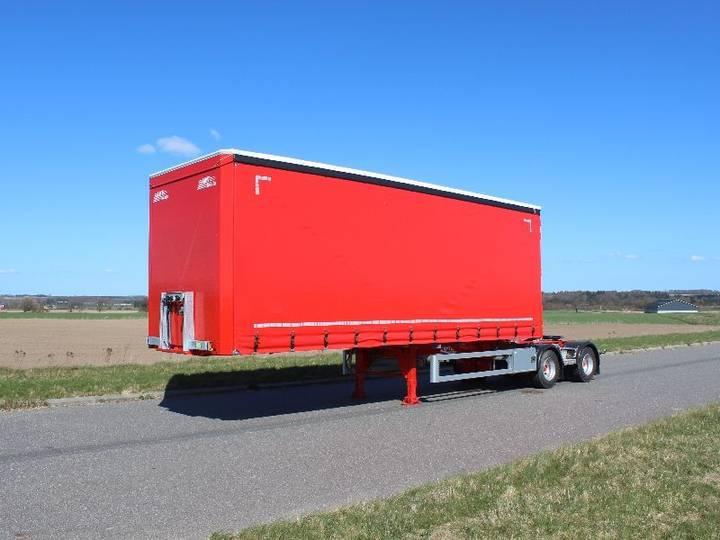 AMT LG200 curtain side semi-trailer