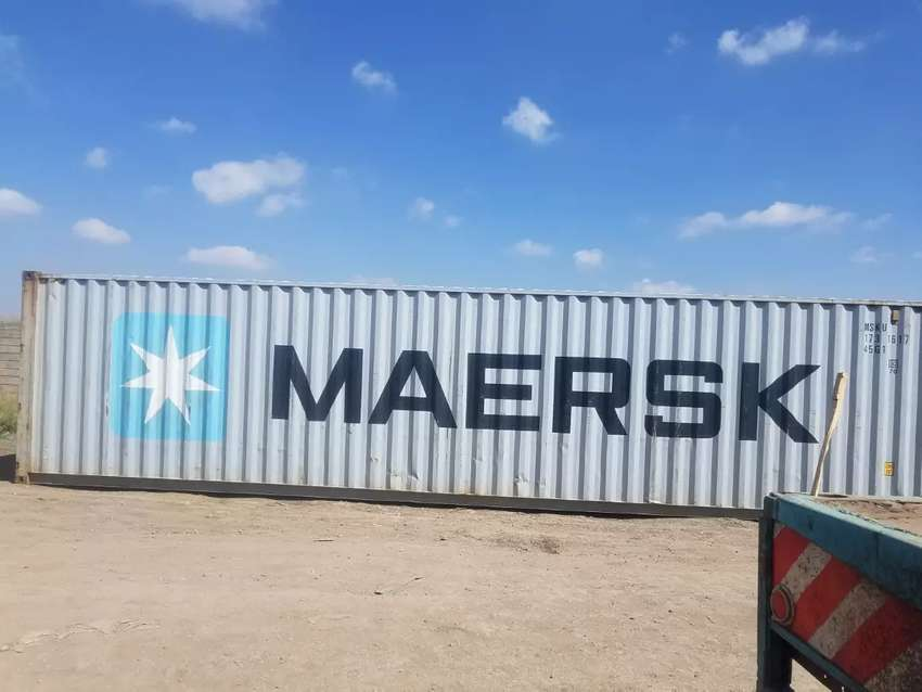 40ft Container In Better Condition Karibu Office Shops
