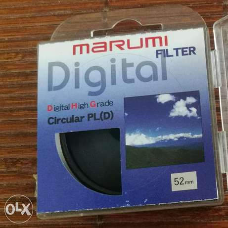 Lens Filter 52mm Marumi Digital High Grade Filter Circular PL(D)