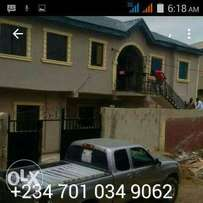 Well Finished 4Flats 3Nos 2Bed+Mini flat at Ogba 25m