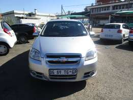 2009 Chevrolet Aveo,4 doors,factory a/c, c/d player, central locking
