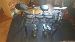 alesis dm7x kit with extra bass pedal