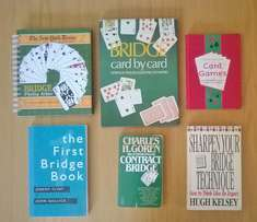 6 Card games books. R100 for the lot.