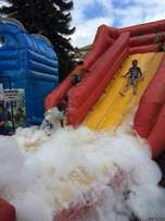 Water slides,clown,mascots,clowns,slides.mascot,face painting for hire