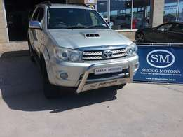 2009 Toyota Fortuner 3.0 4x4 DSL