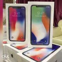Iphone X 256gb silver n space grey brand new sealed original warrante