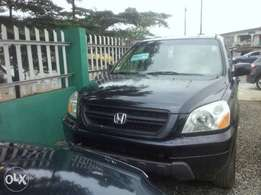 Tokunbo Honda Pilot 2004/05, Leather With Navigation Screen