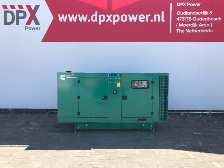 Cummins C110 D5 - 110 kVA Generator - DPX-18509 - 2019