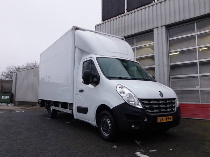 Renault Master T35 2.3 dCi L4H3 DL Eco BOX WITH TAILLIFT EXPORT ONLY - 2013