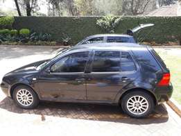 Golf five seater , fully loaded, low mileage, quick sale