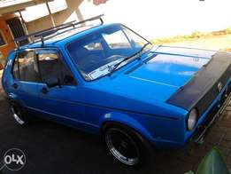 golf mk1 to swap or sell