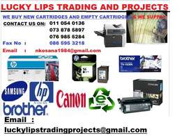 Give me a call if you are selling new cartridges and empty cartridges