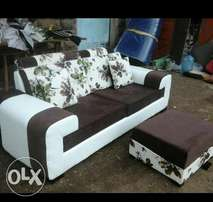2 seater n poof #offer #