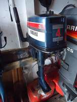 4hp Yamaha short shaft motor, used for sale  Somerset West