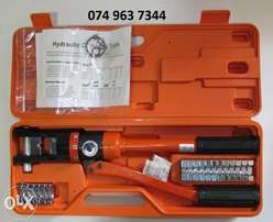 THREE-D HP-240 Hydraulic Cable Lug Crimper with Dies in Carry Case